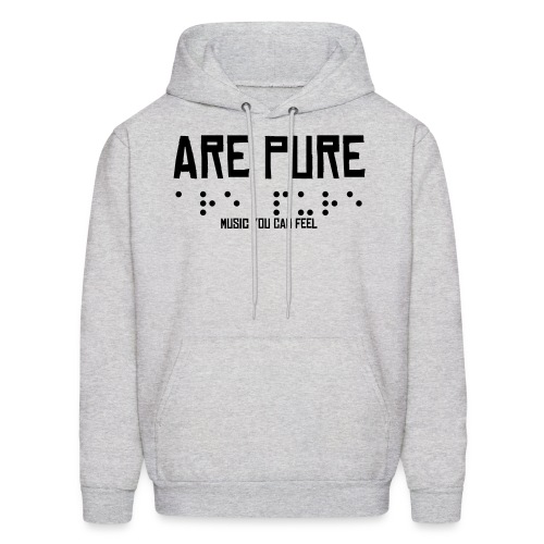 Are Pure Braille Hoody - Men's Hoodie