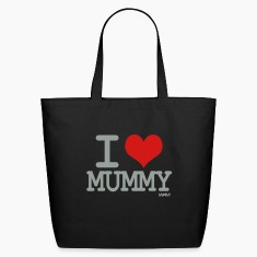 Black i love mummy by wam Bags