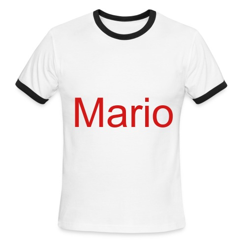 Mario - Men's Ringer T-Shirt