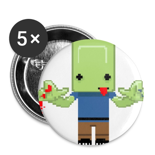 Zombie toon - Small Buttons