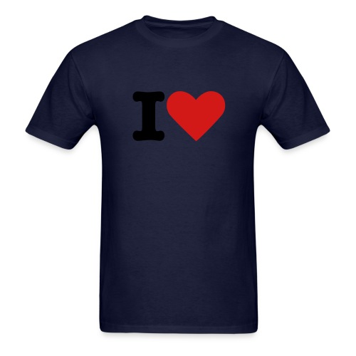 I Love TIME  t-shirt - Men's T-Shirt