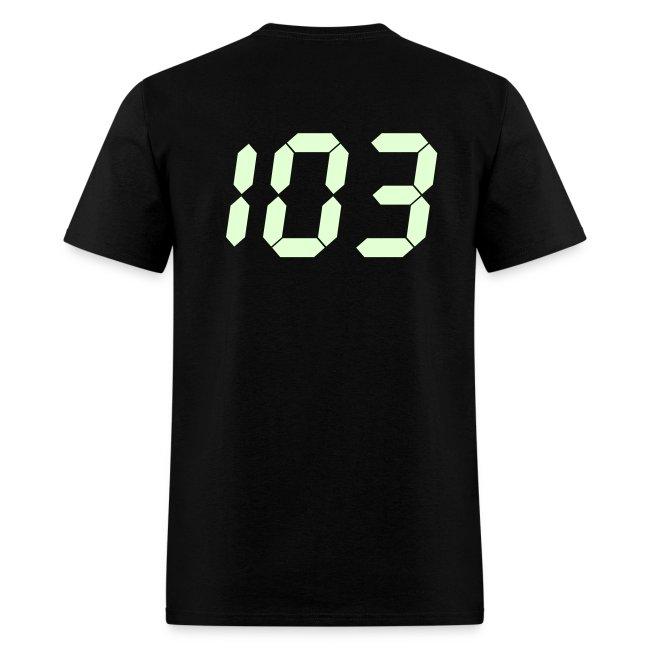 My original 103 T-shirt