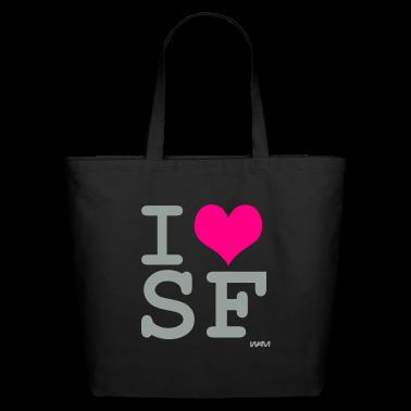 Black i love sf by wam Bags