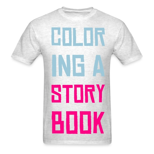 Typography#1 grey&BLUE/PINK ** EDITION - Men's T-Shirt