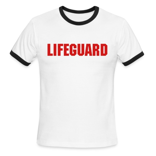 Lifeguard - not on duty - Men's Ringer T-Shirt
