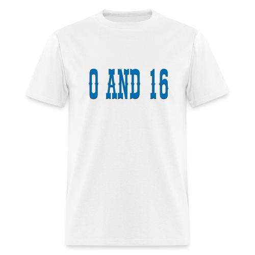0and16 Men's Standard Weight T-Shirt - Men's T-Shirt