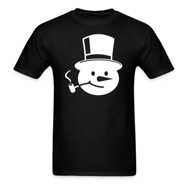 Black Frosty the Snowman T-Shirts
