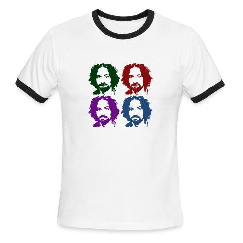 Charles Manson Men's Ringer Tee - Men's Ringer T-Shirt