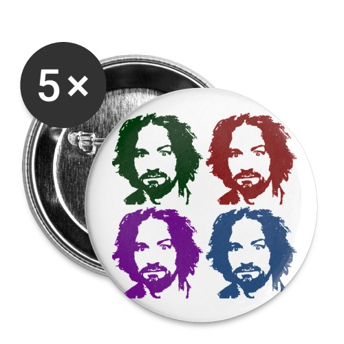 Charles Manson Button - Small Buttons