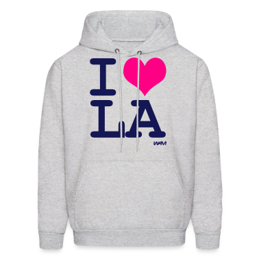 Ash  i love LA by wam Hoodies