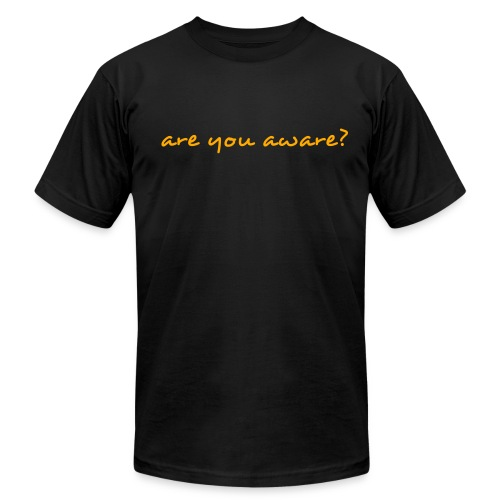 Question - Men's Fine Jersey T-Shirt