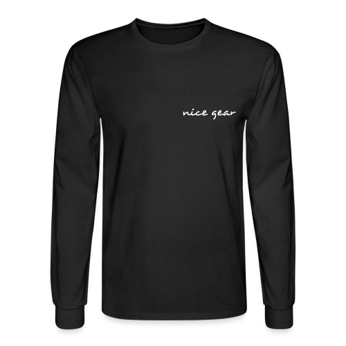 Nice Gear Men's  Long Sleeve Teel  - Men's Long Sleeve T-Shirt