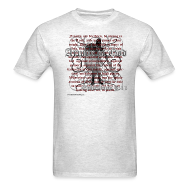Ash  Armor of God, Cool Christian T-Shirts T-Shirts