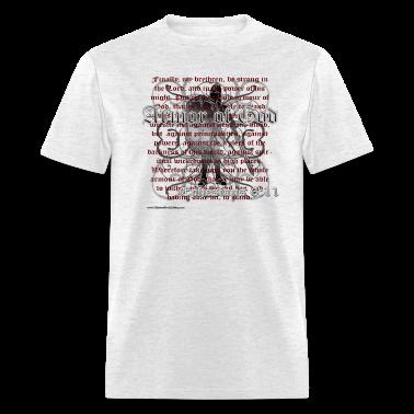 Ash  Armor of God, Cool Christian T-Shirts T-Shirts