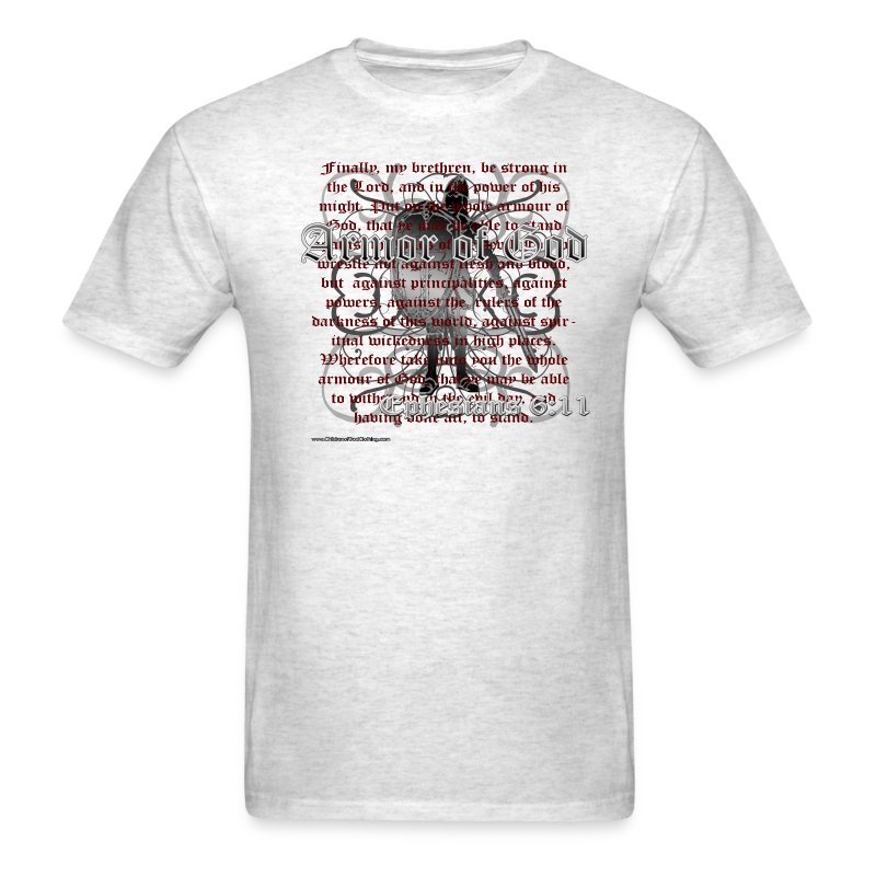 Armor of God, Cool Christian T-Shirts, Ephesians - Men's T-Shirt