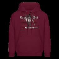 Hoodies ~ Men's Hoodie ~ Armor of God, Cool Christian Hoodie Sweatshirt