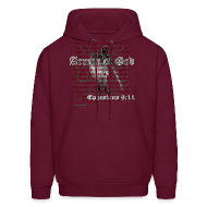 Hoodies ~ Men's Hoodie ~ Armor of God, Cool Christian Hoodie Sweatshirt