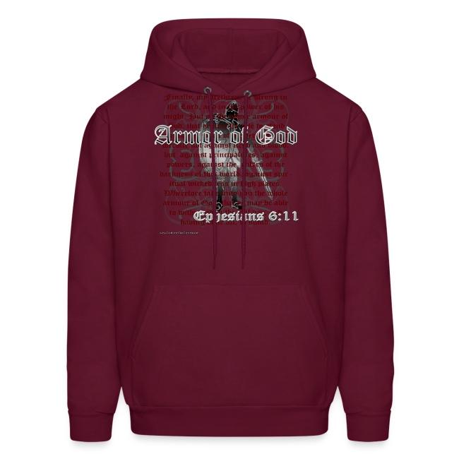 Armor of God, Cool Christian Hoodie Sweatshirt