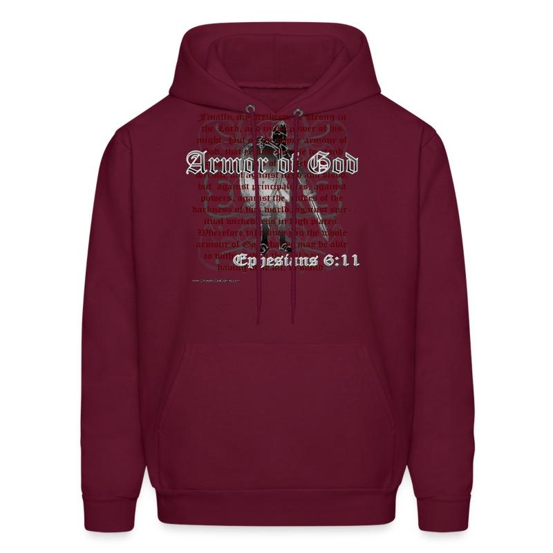Armor of God, Cool Christian Hoodie Sweatshirt - Men's Hoodie