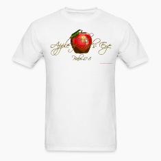 White Apple of Gods Eye Christian T-Shirts T-Shirts
