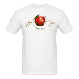 Apple of God's Eye, Cool Christian T-Shirts (White) - Men's T-Shirt