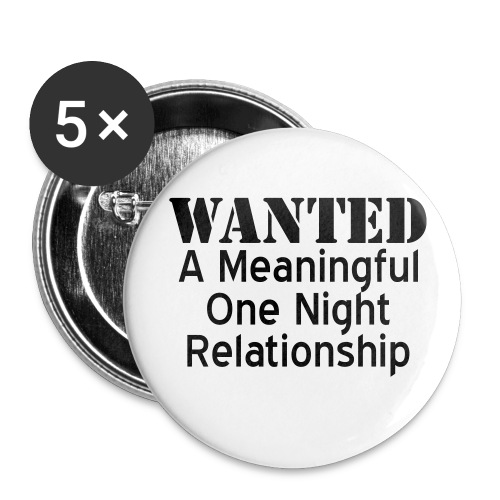 wanted - Large Buttons