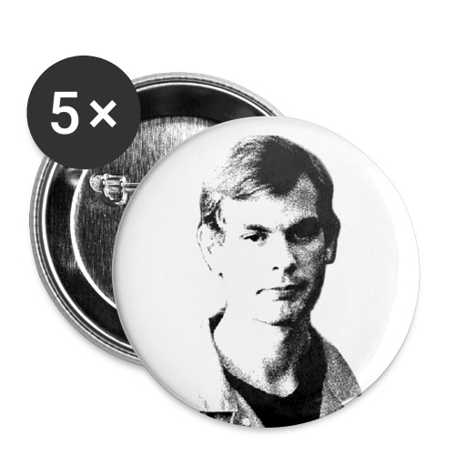 Jeffrey Dahmer Buttons - Large Buttons