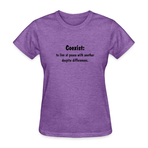 Women's Coexist - Women's T-Shirt