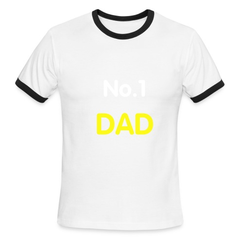 No.1 DAD - Men's Ringer T-Shirt