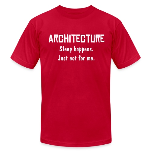 Architecture - Sleep happens not for me - Men's  Jersey T-Shirt