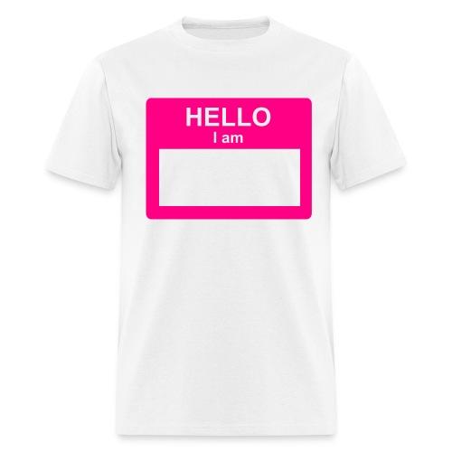 FUZZY NIPPLES - Men's T-Shirt