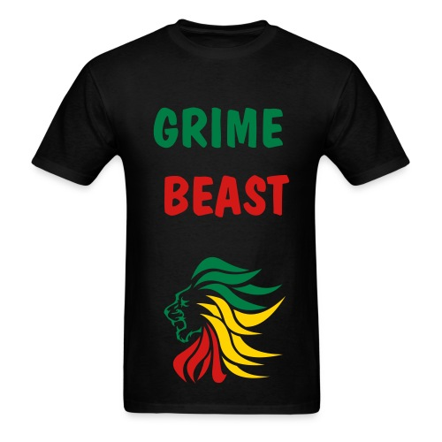 GRIME BEAST - Men's T-Shirt