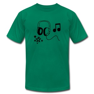 Music Tee - Men's Fine Jersey T-Shirt