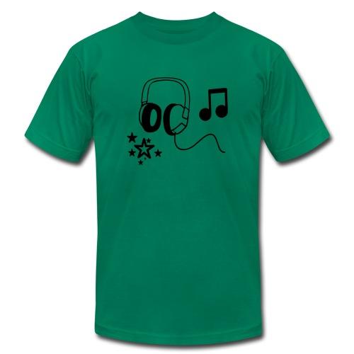 Music Tee - Men's Fine Jersey T-Shirt