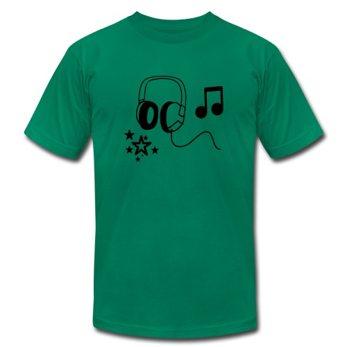 Music Tee - Men's  Jersey T-Shirt