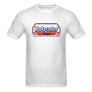 Grey Bobcats Diner T-Shirt - Men's T-Shirt