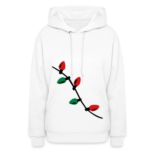 X-mas Lights Sweatshirt - Women's Hoodie