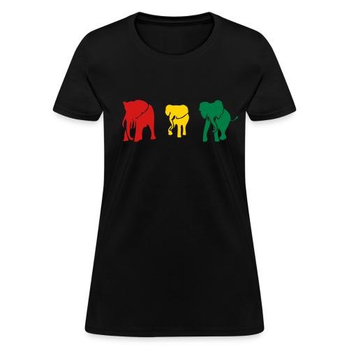 african elephants tee - Women's T-Shirt