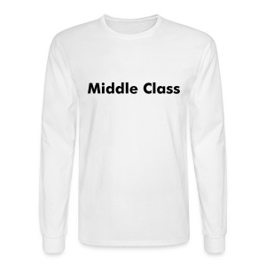 Middle-Class Long Sleeves - Men's Long Sleeve T-Shirt