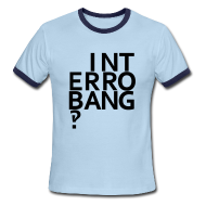 T-Shirts ~ Men's Ringer T-Shirt ~ Interrobang‽