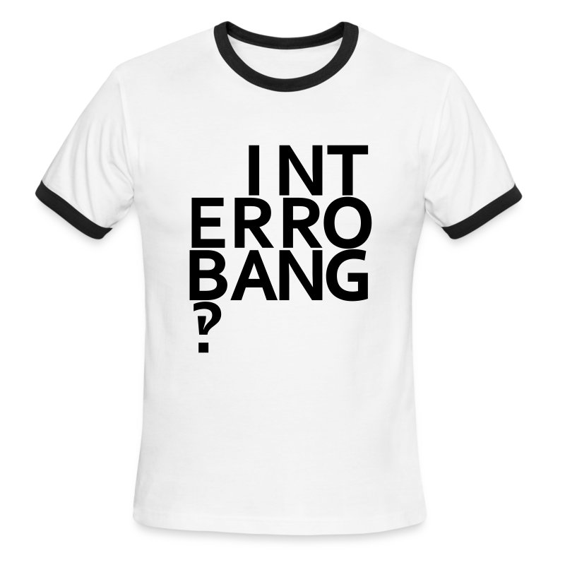 Interrobang‽ - Men's Ringer T-Shirt