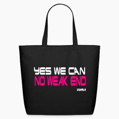 Black yes we can no weak end by wam Bags