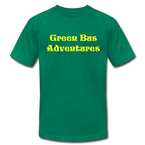 Plain Green Bus Adventures T-Shirt - Men's  Jersey T-Shirt