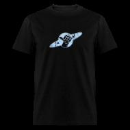 T-Shirts ~ Men's T-Shirt ~ HITCHHIKERS GUIDE Vintage Logo