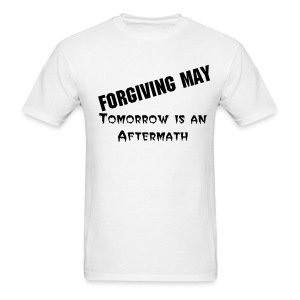 Tomorrow is an Aftermath (White) - Men's T-Shirt