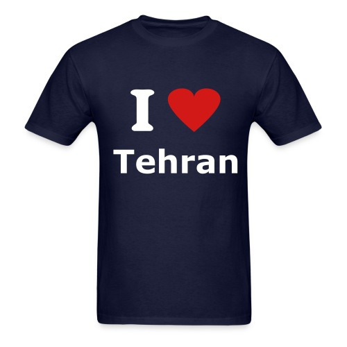 I Love Tehran - Men's T-Shirt