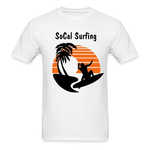 SoCal Surfing - Men's T-Shirt