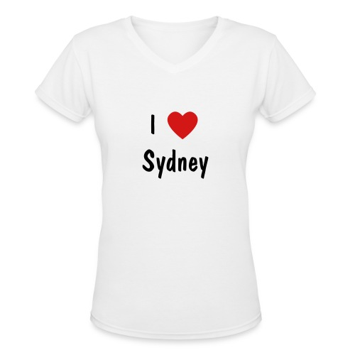 I Love Sydney - Women's V-Neck T-Shirt