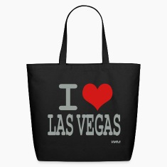 Black i love las vegas by wam Bags