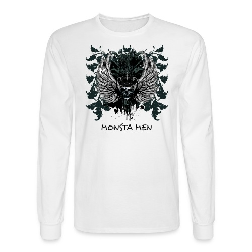 MONSTA MENS LONG T KING SKULL - Men's Long Sleeve T-Shirt